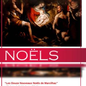 Partitions des 12 Nouveaux Noëls de Marcilhac