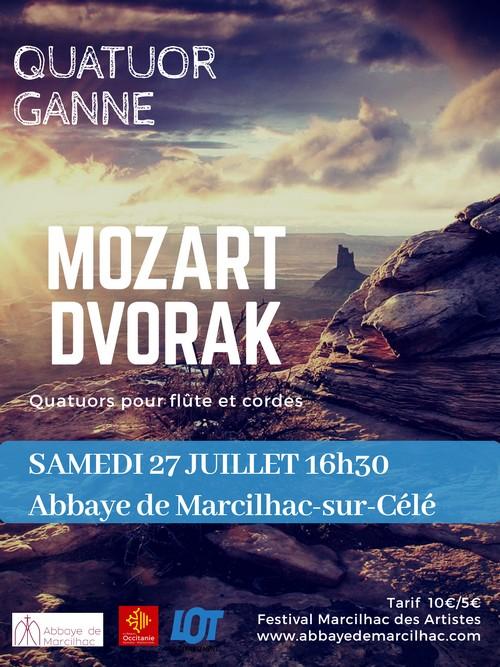 Affiche Quatuor Ganne