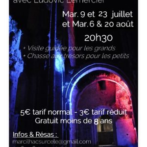 Visites nocturnes abbaye