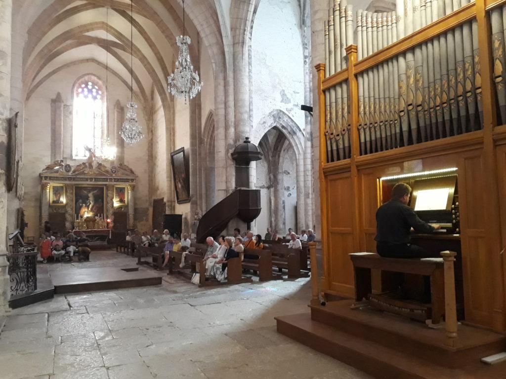 Concert d'orgue Ratti