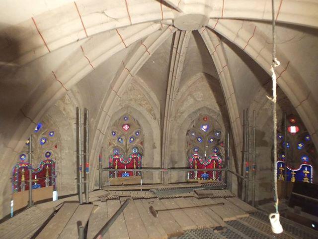 Restauration abbaye Marcilhac