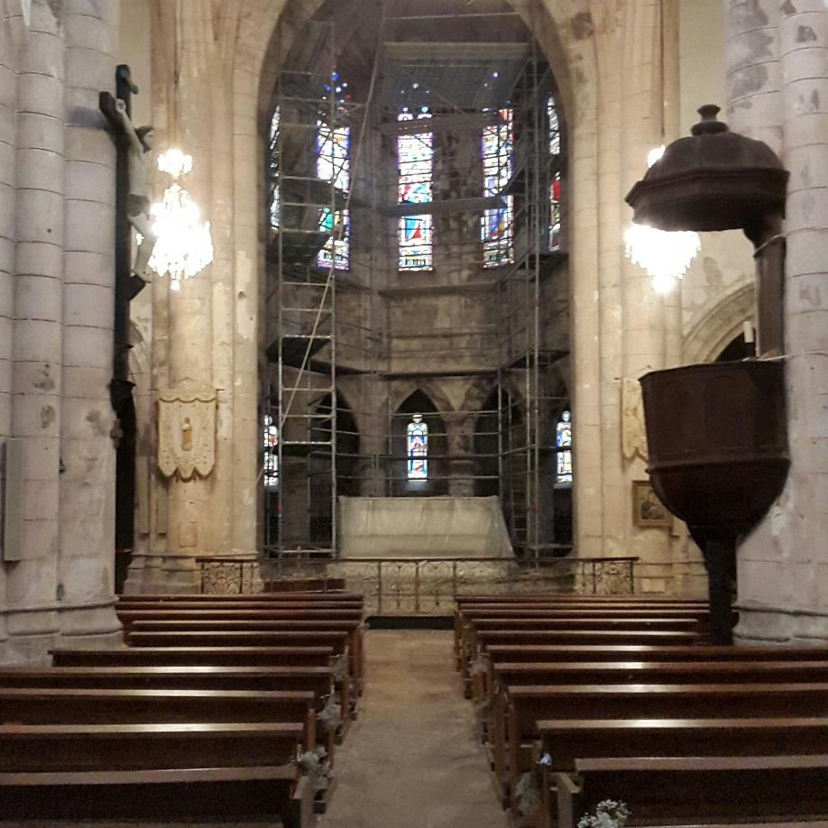 Restauration abbaye de Marcilhac