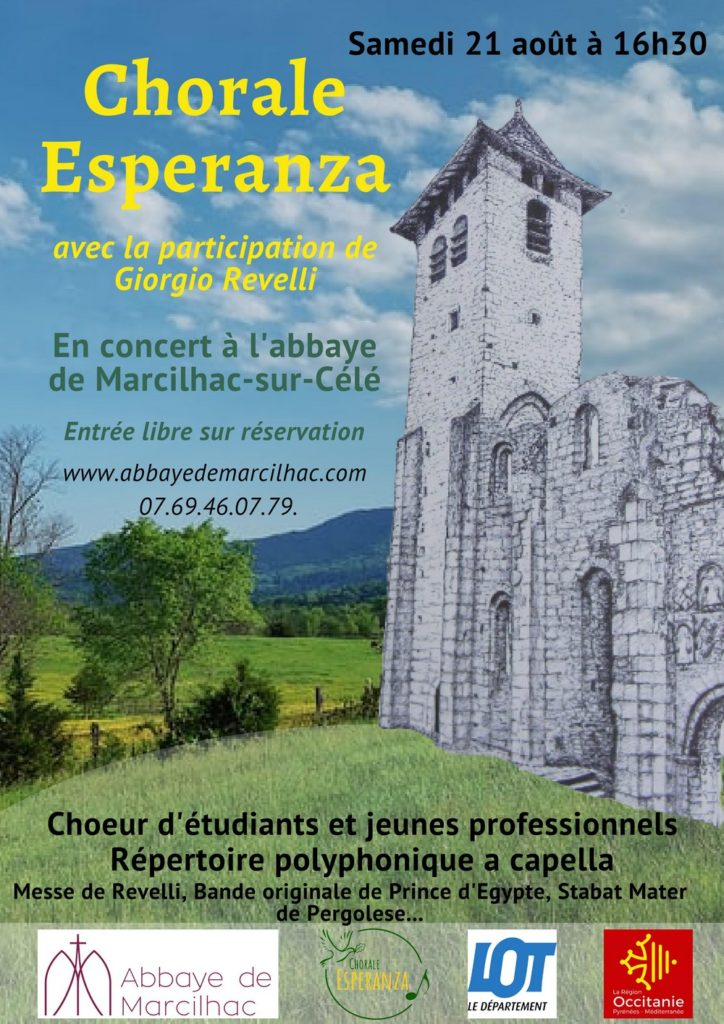 Concert Marcilhac Abbaye